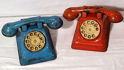 red-and-blue-phones